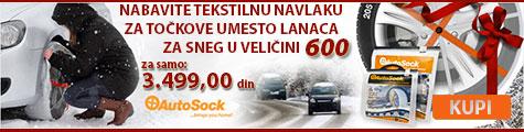 AKCIJA - AutoSock 600